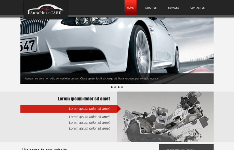 Auto Plus Care Website Design v1.0