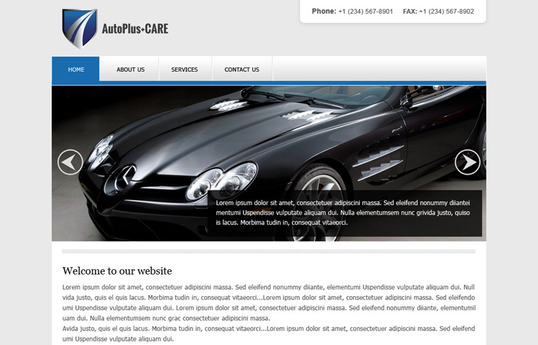 Auto Plus Care Website Design v2.0