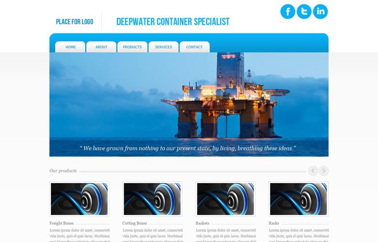 Tanks A Lot Website Design v1.0