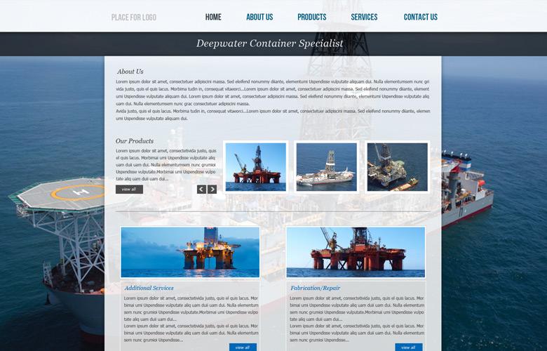 Tanks A Lot Website Design v2.0