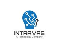 Portfolio / Logo Design / Intravas Technology Company Logo
