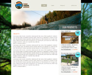 Portfolio / Web Design / Cajun Custom Outdoor Website Design