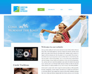 Portfolio / Web Design / Christian Family Outreach Website Design