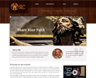 Portfolio / 2013 / Christian Family Outreach Website Design