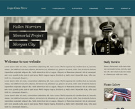 Portfolio / 2013 / Fallen Warriors Memorial Website Design