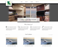 Portfolio / Web Design / Lafayette Company Website Design
