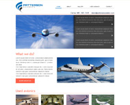 Portfolio / 2014 / Patterson Avionics Company Website Design