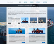 Portfolio / Web Design / Tanks A Lot Website Design