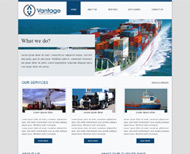 Portfolio / 2013 / Vantage Website Design