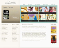 Portfolio / Web Design / Book Shop Website