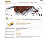 Portfolio / Web Design / SAS Enginireeng