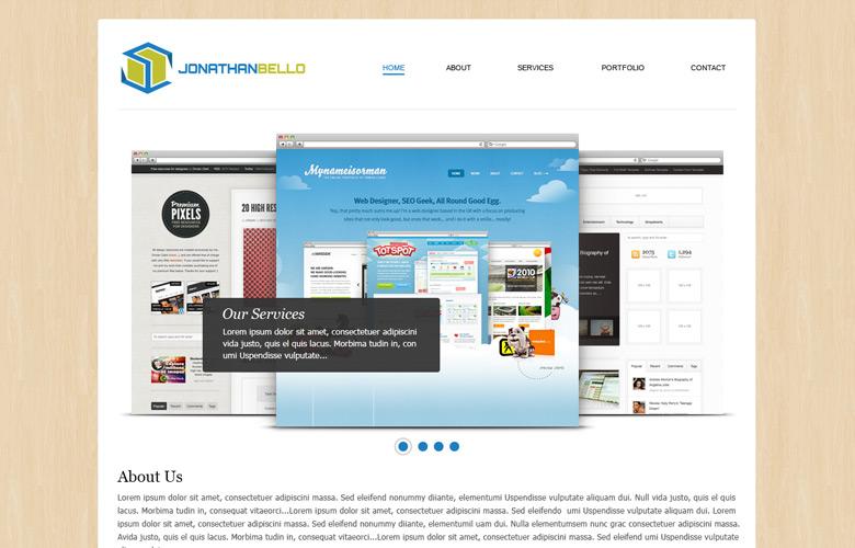 Jonathan Bello Website Design v2.0