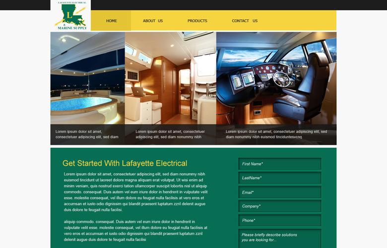Lafayette Company Website Design v1.0