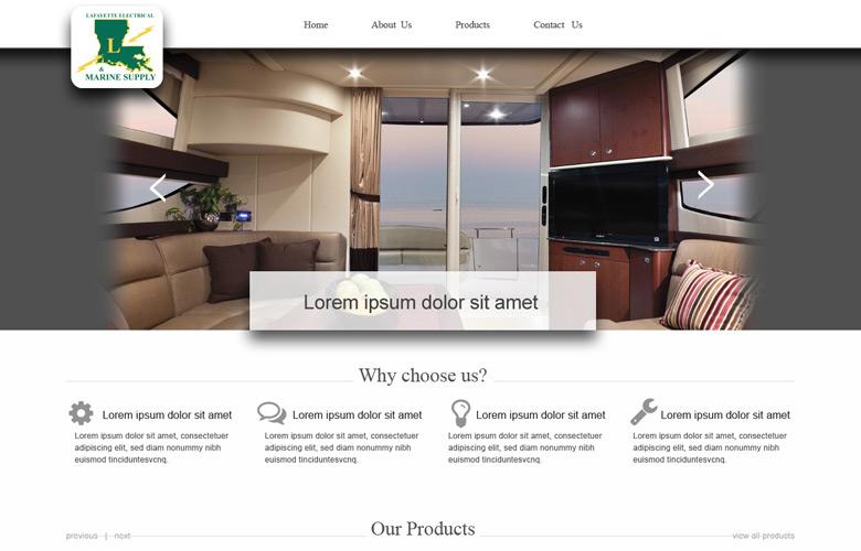 Lafayette Company Website Design v2.0