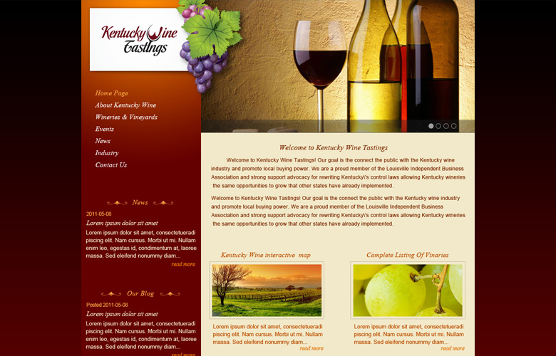 Wine Business Portal