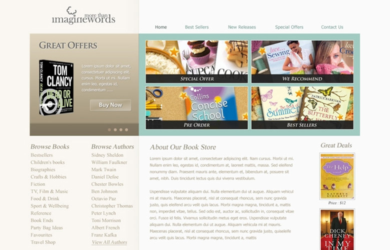 Book Shop Website