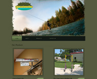 Portfolio / 2013 / Cajun Custom Outdoor Website Design