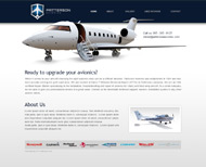 Portfolio / Web Design / Patterson Avionics Company Website Design